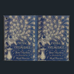 """Pride And Prejudice Peacock Edition Book Cover<br><div class=""""desc"""">This design has been created from the book cover of the beautiful &#39;Peacock&#39; 1894 edition of Jane Austen&#39;s Pride And Prejudice.</div>"""