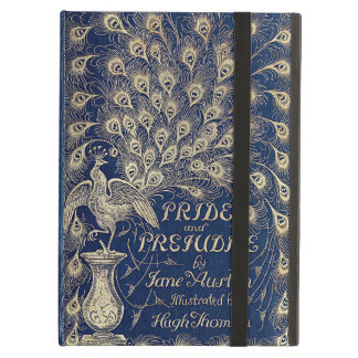 Pride And Prejudice Peacock Edition Book Cover iPad Air Covers