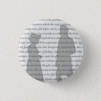 Pride and Prejudice Pinback Button