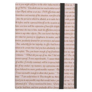Pride and Prejudice Quote Cover For iPad Air