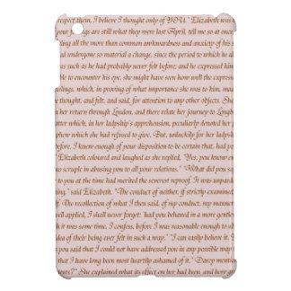 Pride and Prejudice Quote iPad Mini Covers