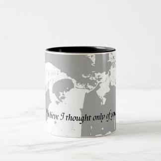 Pride and Prejudice Quote Two-Tone Coffee Mug