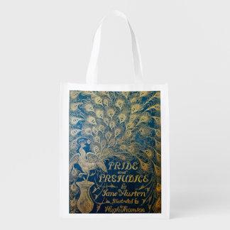 Pride and Prejudice Reusable Bag - Antique Cover
