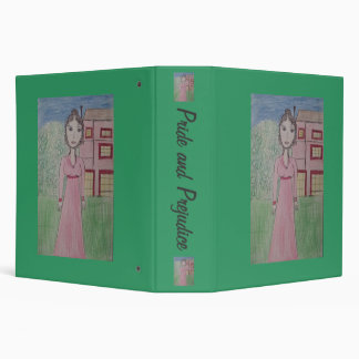 Pride and Prejudice wide 3 Ring Binder