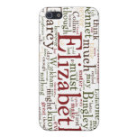 Pride and Prejudice Word Cloud iPhone SE/5/5s Case
