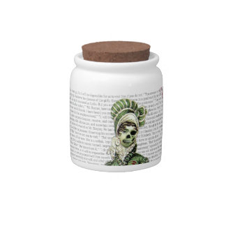 Pride and Prejudice - Zombified! Candy Dish