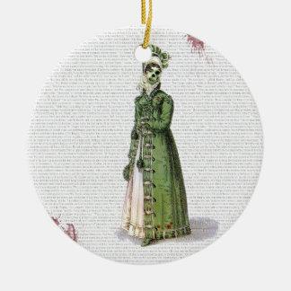 Pride and Prejudice - Zombified! Ceramic Ornament