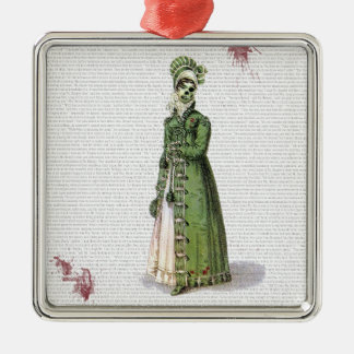 Pride and Prejudice - Zombified! Metal Ornament