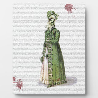Pride and Prejudice - Zombified! Display Plaques