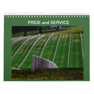 Pride And Service Calendar