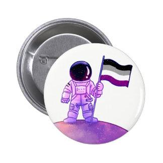 Pride Astronaut [Asexual] Pinback Button