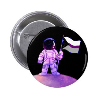 Pride Astronaut [Demisexual] Button