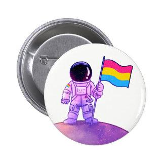 Pride Astronaut [Pan] Button