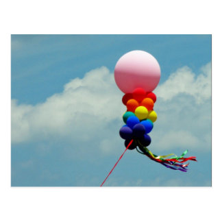 Pride Balloons Postcard