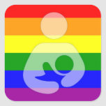 Pride Breastfeeding Symbol Stickers