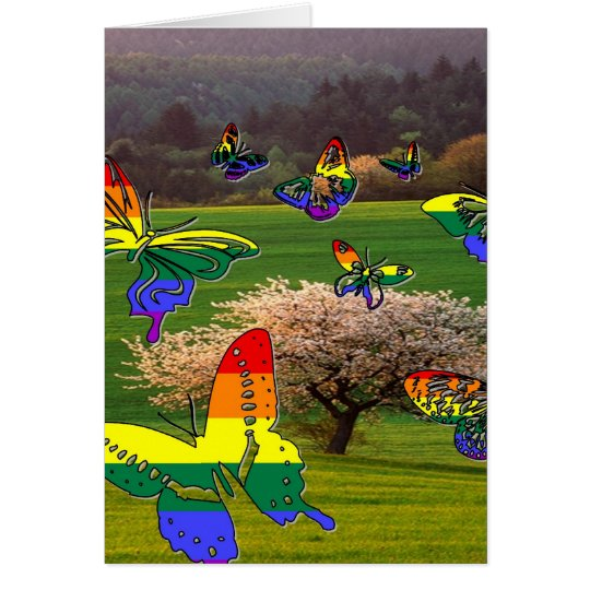 Pride Butterflies Card