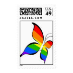 pride butterfly postage stamps