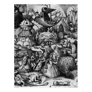 Pride by Pieter Bruegel the Elder Postcard
