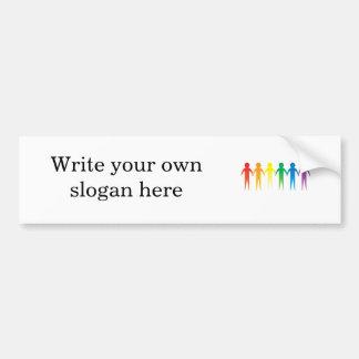 Pride Chain Bumper Sticker