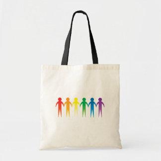 Pride Chain Canvas Bags