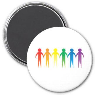 Pride Chain Fridge Magnets