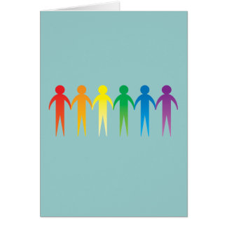 Pride Chain Greeting Card