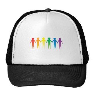 Pride Chain Mesh Hats