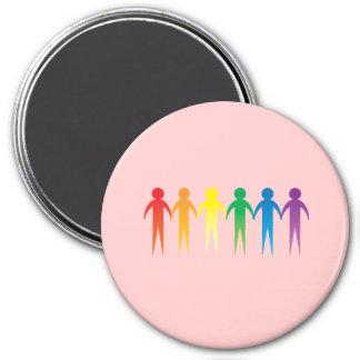 Pride Chain Refrigerator Magnet