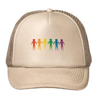 Pride Chain Trucker Hat