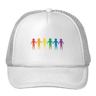 Pride Chain Trucker Hats