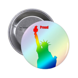 Pride Colors of Liberty Button