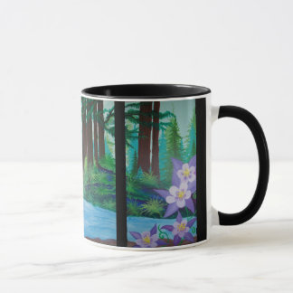 Pride, Confidence, and Resiliance painting mug by