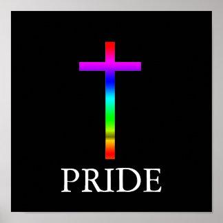 Pride Cross Print
