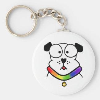 Pride Dog Keychain Key Chain