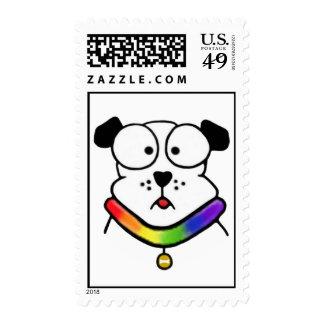 Pride Dog Postage Stamps