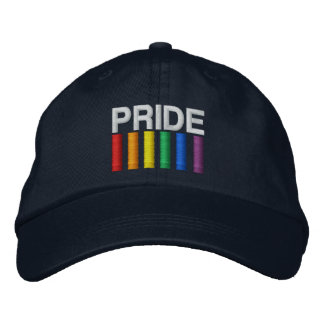 Pride Embroidered Baseball Caps