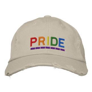 Pride Embroidered Baseball Hat