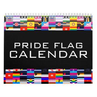 Pride Flag Annual Calendar