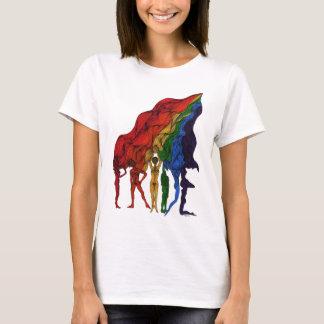 Pride Flag Female T-Shirt