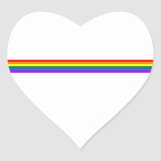 Pride flag rainbow custom sticker
