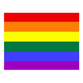 Pride Flag Rainbow  postcard
