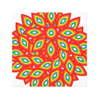 Pride Flower Canvas Print
