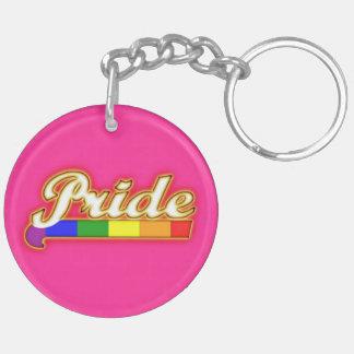 Pride Gay Pride Glowing Pride Keychain