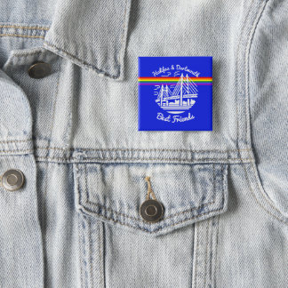 Pride Halifax Dartmouth best friends pin Badge