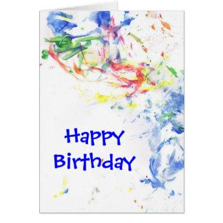 "Pride ""Happy Birthday"" Notecard"