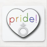 Pride Heart Mouse Pad