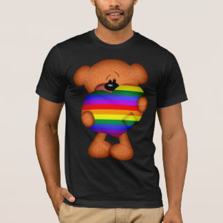 Pride Heart Teddy Bear T-Shirt