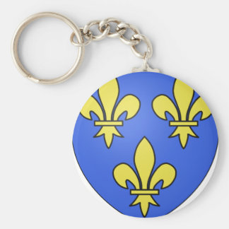 PRIDE IN FRENCH HERITAGE KEYCHAINS