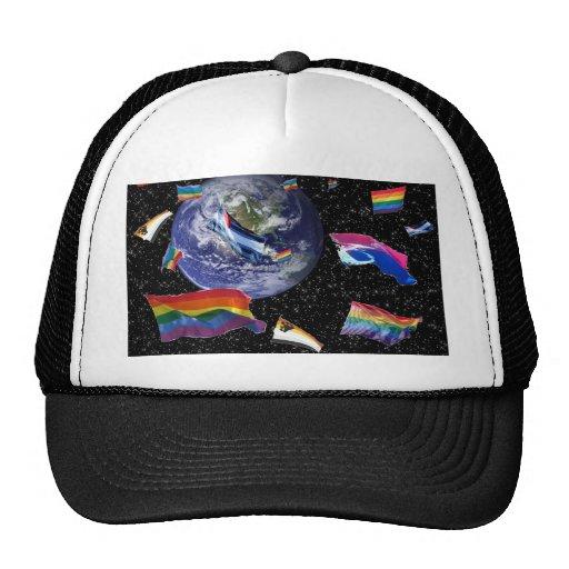 Pride in Space Mesh Hats