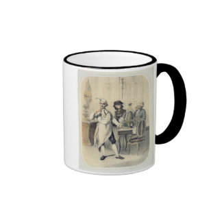 Pride in the Kitchen, from a series of prints depi Ringer Coffee Mug